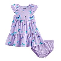 Baby Girl Jumping Beans® Tiered Dress