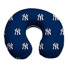 New York Yankees Memory Foam Travel Pillow