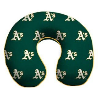 Oakland Athletics Memory Foam Travel Pillow