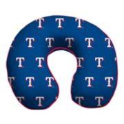 Texas Rangers Memory Foam Travel Pillow