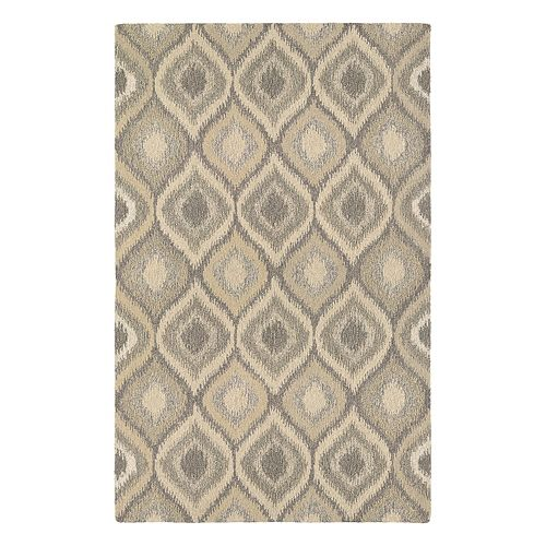 Couristan Super Indo-Natural Ridley Ikat Wool Rug
