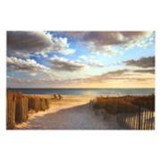 Art.com Sunset Beach Wall Art Print