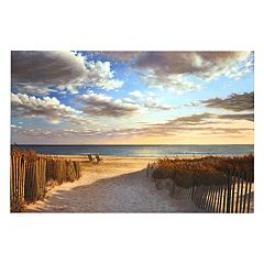 Art.com Sunset Beach Wall Art Print