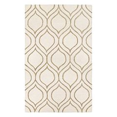 Couristan Super Indo-Natural Alba Trellis Wool Rug