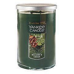 Yankee Candle Balsam & Cedar Tall 22-oz. Large Candle Jar