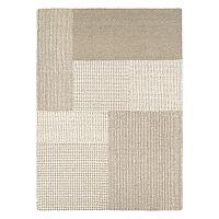 Couristan Super Indo-Natural Joplin Geometric Wool Rug