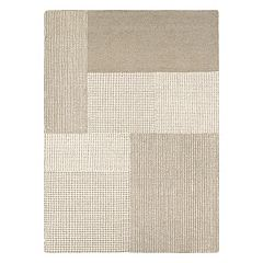 Couristan Super Indo-Natural Joplin Geometric Wool Rug