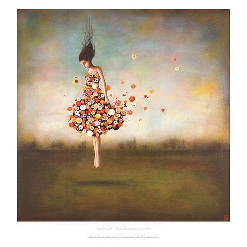 Art.com Boundlessness In Bloom Wall Art Print