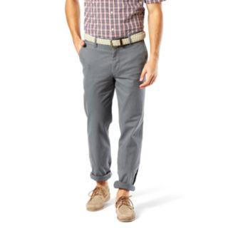 Big & Tall Dockers D3 Classic-Fit Washed Khaki Flat-Front Pants