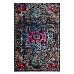 Safavieh Artisan Charlotte Framed Floral Rug