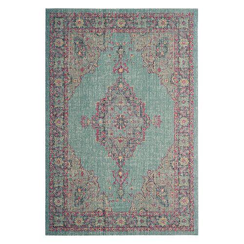 Safavieh Artisan Adalyn Framed Floral Rug