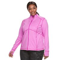 Plus Size Tek Gear® Zip-Up Performance Jacket