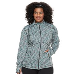 Plus Size Tek Gear® Zip-Up Performance Jacket