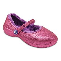 Crocs Karin Sparkle Lined Girls' Clogs