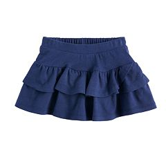 Toddler Girl Jumping Beans® Solid Tiered Tulip Skort