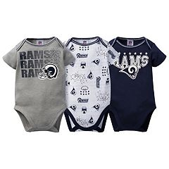 Baby Los Angeles Rams 3-Pack Bodysuit Set