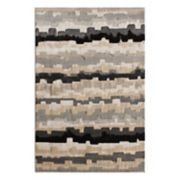 Natco Milan Erasto Striped Geometric Rug