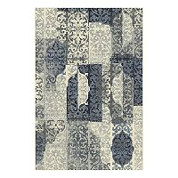 Natco Milan Sevan Geometric Scroll Rug