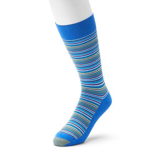 Men's GOLDTOE Patterned Crew Socks