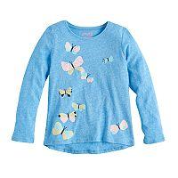Girls 4-10 Jumping Beans® Embellished Hi Low Graphic Tee