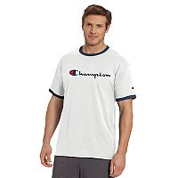 Men's Champion Graphic Jersey Ringer Tee
