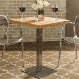 Baxton Studio Owen Rustic Industrial Bistro Table
