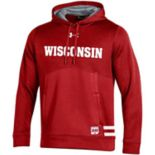 Men's Under Armour Wisconsin Badgers Storm Fleece Hoodie