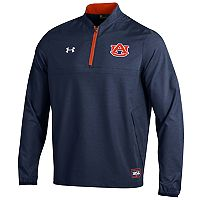 Men's Under Armour Auburn Tigers Cage Pullover Jacket