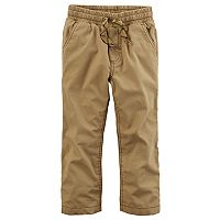 Toddler Boy Carter's Jersey Lined Pants