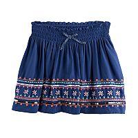 Girls 4-12 SONOMA Goods For Life™ Embellished Skort