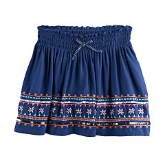Girls 4-12 SONOMA Goods For Life™ Embellished Skort