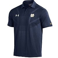 Men's Under Armour Notre Dame Fighting Irish Tour Polo