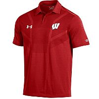 Men's Under Armour Wisconsin Badgers Tour Polo