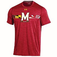 Men's Under Armour Maryland Terrapins Training Short-Sleeved Tee