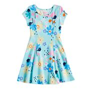 Girls 4-10 Jumping Beans® Curved Seam Skater Dress
