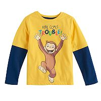 Toddler Boy Curious George