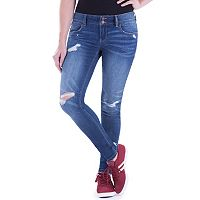 Juniors' Amethyst 5-Pocket Jegging