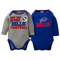 Baby Buffalo Bills 2-Pack Bodysuit Set