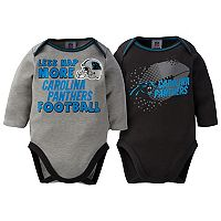 Baby Carolina Panthers 2-Pack Bodysuit Set