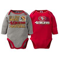 Baby San Francisco 49ers 2-Pack Bodysuit Set