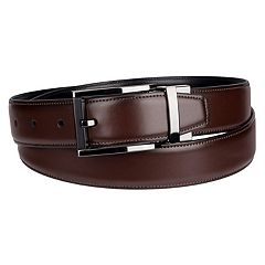 Men's Apt. 9® Reversible Two-Tone Buckle Belt