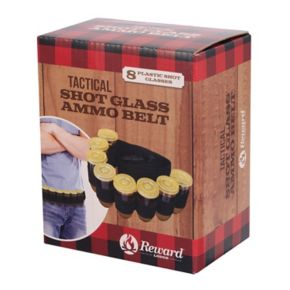 Reward Shotgun Shell Shot Glass Belt