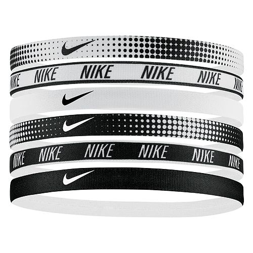 Nike 6-pk. Printed Swoosh Headband Set