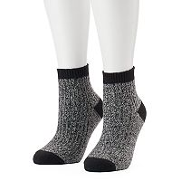Women's Columbia 2-pk. Marled Quarter Socks