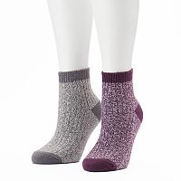 Women's Columbia 2 pkMarled Quarter Socks