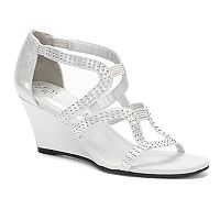 New York Transit Natural Women's Wedge Sandals
