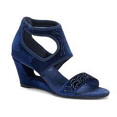 New York Transit Natural Pretty Women's Wedge Sandals