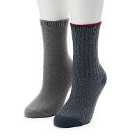 Women's SONOMA Goods for Life™ 2 pkRibbed Crew Socks