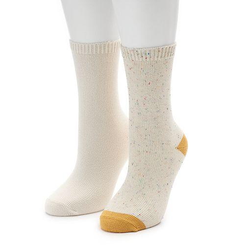 Women's SONOMA Goods for Life™ Flat Knit Crew Socks
