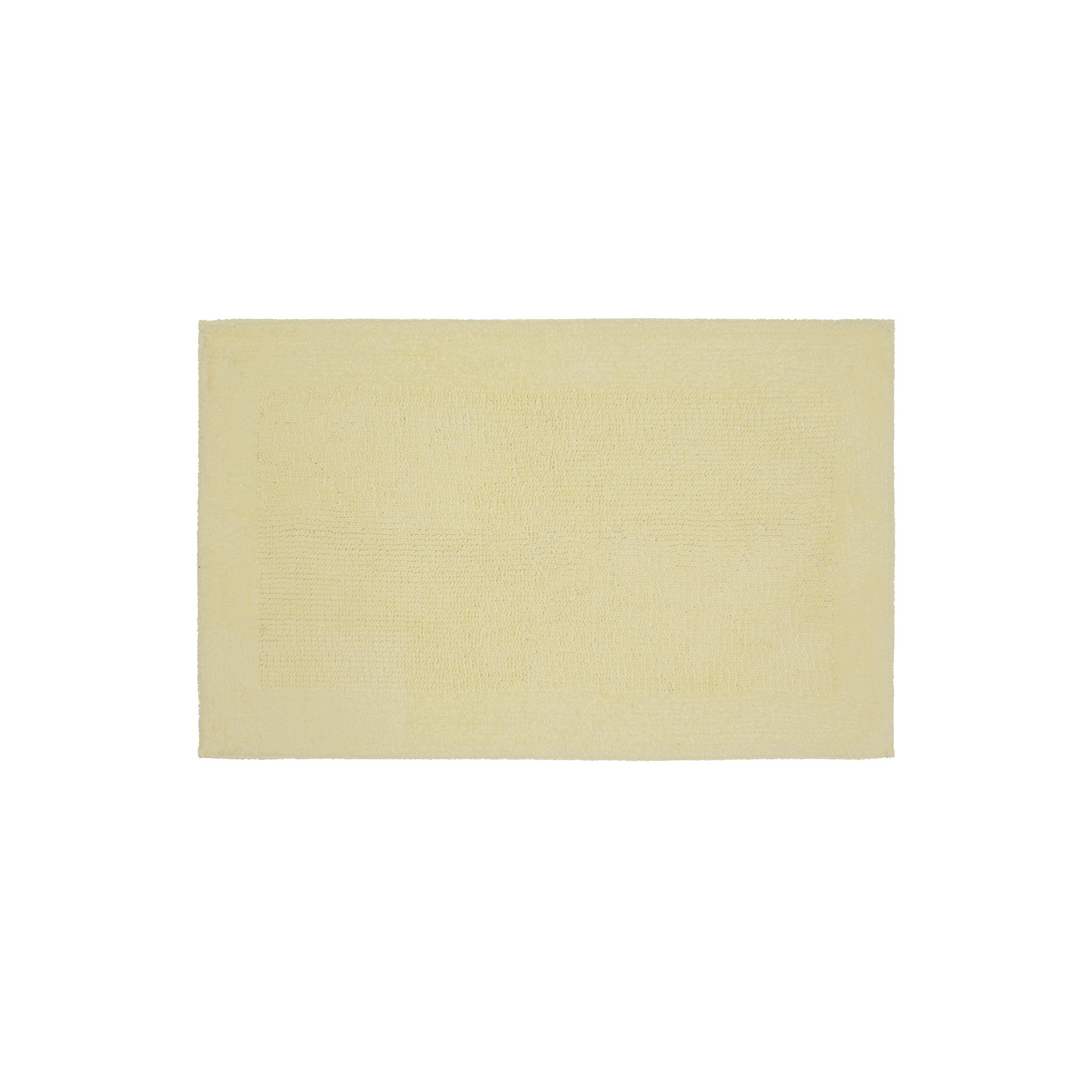 SONOMA Goods For Life™ Cotton Reversible Solid Border Bath Rug   17u0027 X 24